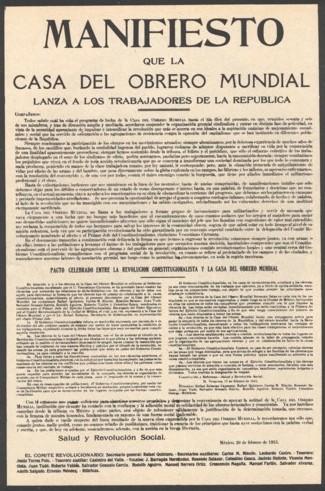 Cartell amb la reproducció del pacte