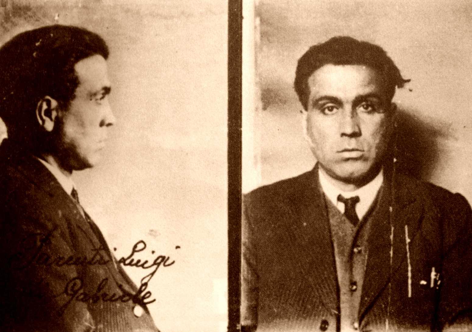 Foto policíaca de Luigi Parenti