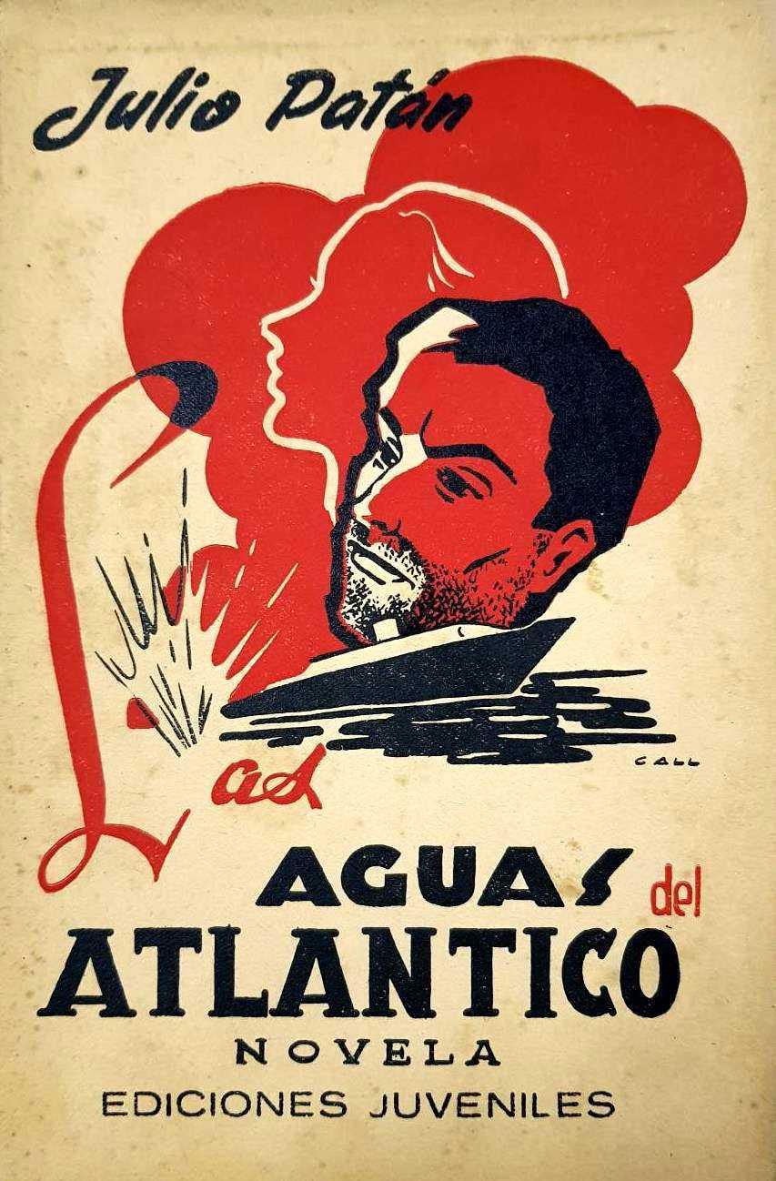 """Portada de """"Las aguas del Atlántico"""" (1953)"""