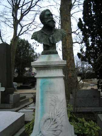 Tomba de Paul Brousse al cementiri de Père-Lachaise