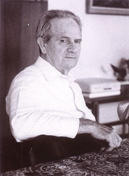 Josep Peirats a Vila Canaima (Montadin, prop de Besiers), en 1974, on vivia amb sa companya Gràcia Ventura
