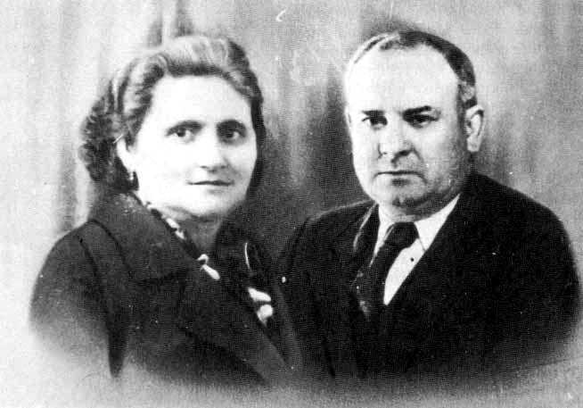 Joan Peiró amb sa companya Mercè Olives i Bonastre