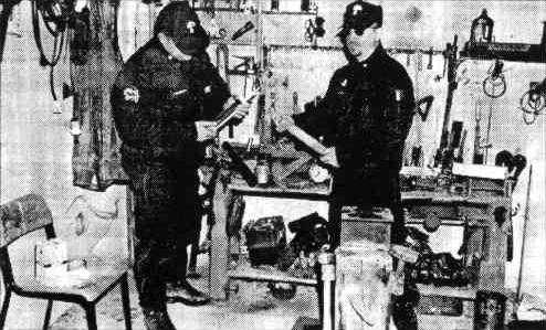 Un escorcoll d'aquest muntatge policíac