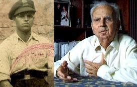 Juan Perales León, de jove i de gran