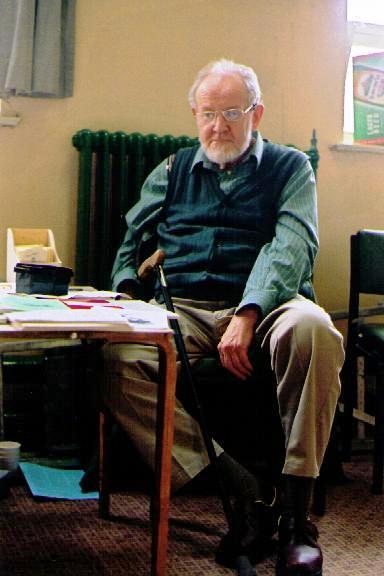 Peter Neville a la Fira Anarcoecologista de Belper