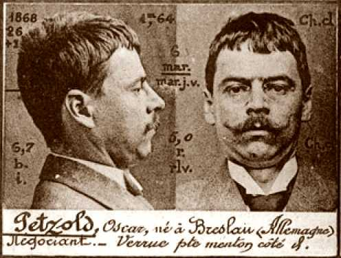 Foto policíaca d'Oscar Petzold (ca. 1894)