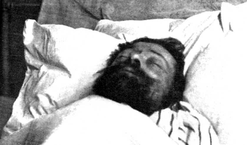Pierre Martin al llit de mort
