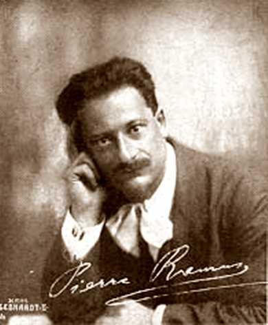 Pierre Ramus fotografiat per Hans Gebhardt (1920)