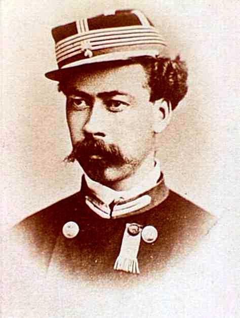Jean-Luis Pindy durant la Comuna de París (1871). Fotografia de Ch. Reutlinger