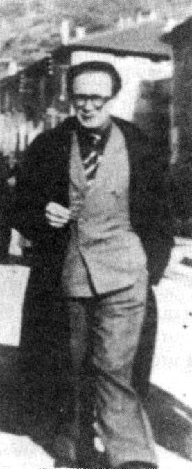 Francisco Ponzán a la primavera de 1940 a Virilhes (França)