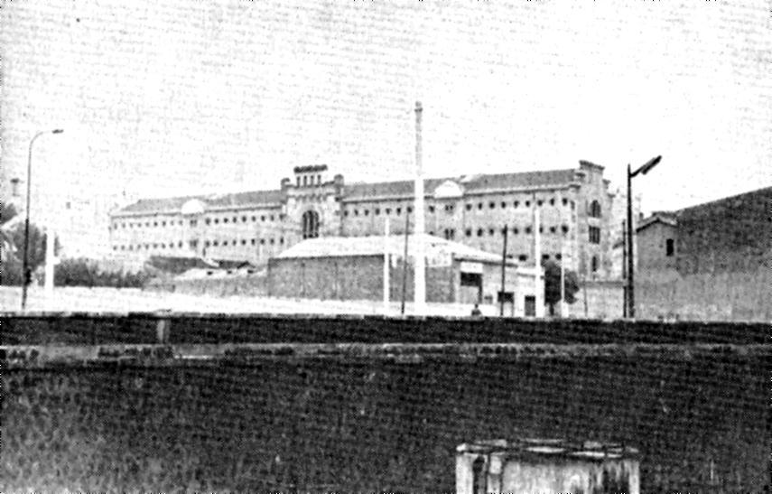 Presó Model de Barcelona (fotografia realitzada per Quico Sabaté)