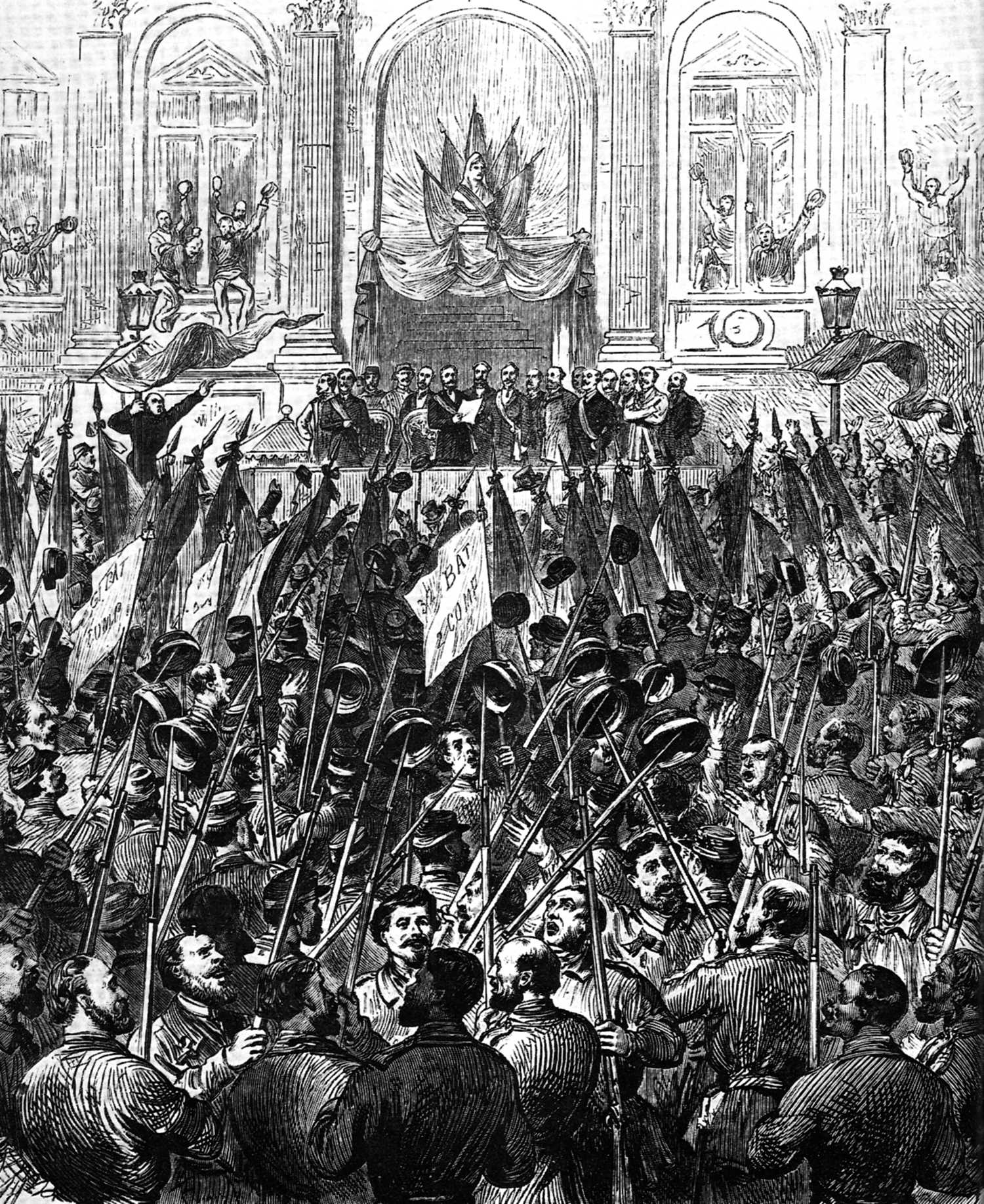 Proclamació solemne de la Comuna de París
