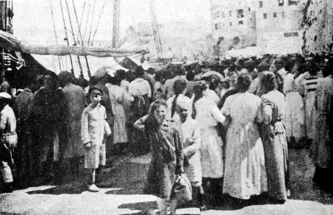 """Protestes per les subsistències (revista """"Baleares"""", 1918)"""