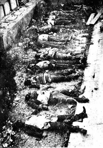 Militantes anarquistas asesinados durante la represión comunista abandonados en el cementerio de Sants de Barcelona