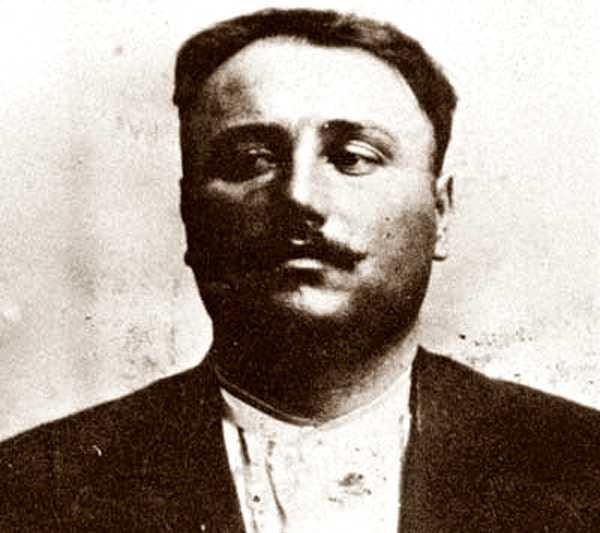 Fotografia d'Oreste Ristori de la fitxa policíaca brasilera (São Paulo, 1911)