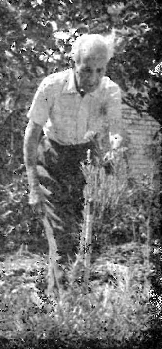 Albà Rosell Llongueres, octogenari, a la seva residència de Montevideo