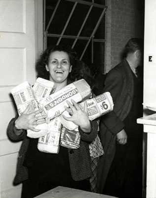 Rose Pesotta porta pa als obrers en vaga (Los Ángeles, 1941)