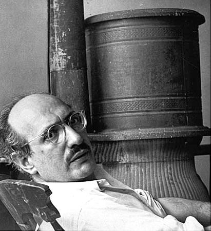 Mark Rothko al seu estudi de West 53rd Street de Manhattan, fotografiat per Henry Elkan cap al 1953