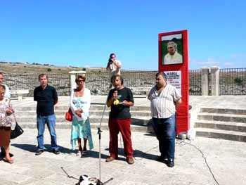 Inauguració de la Rotonda Maria Occhipinti