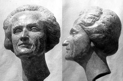 Fernand Rude según un bronce de Charles machetes
