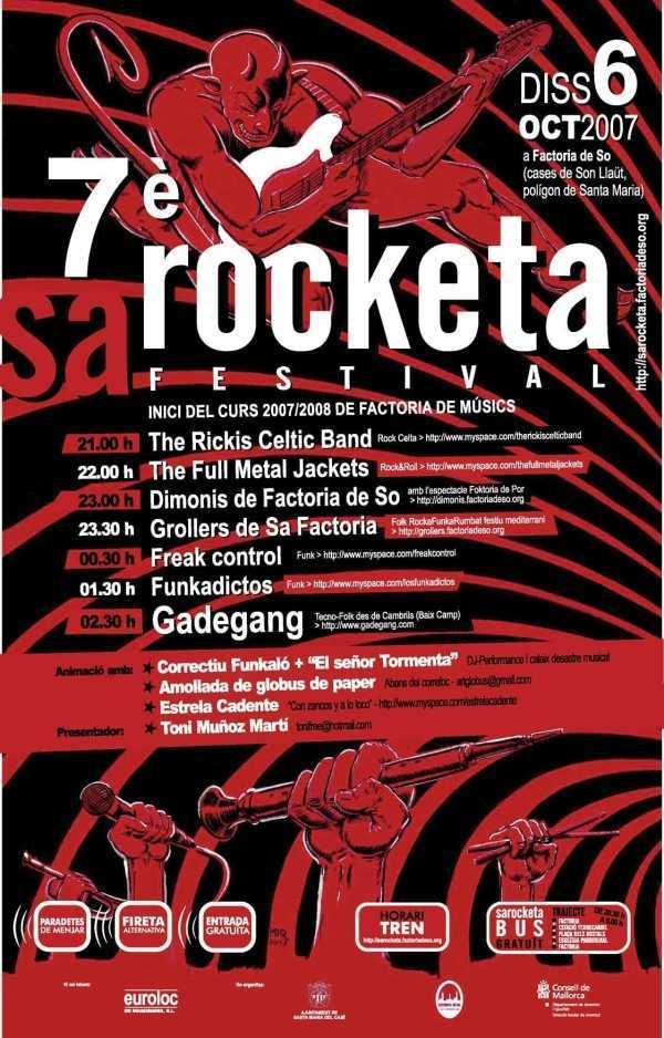 Sa Rocketa 2007