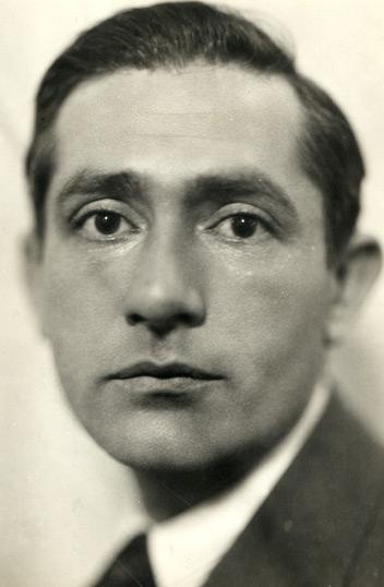 Marcel Sauvage fotografiat per Henri Martinie (1929)