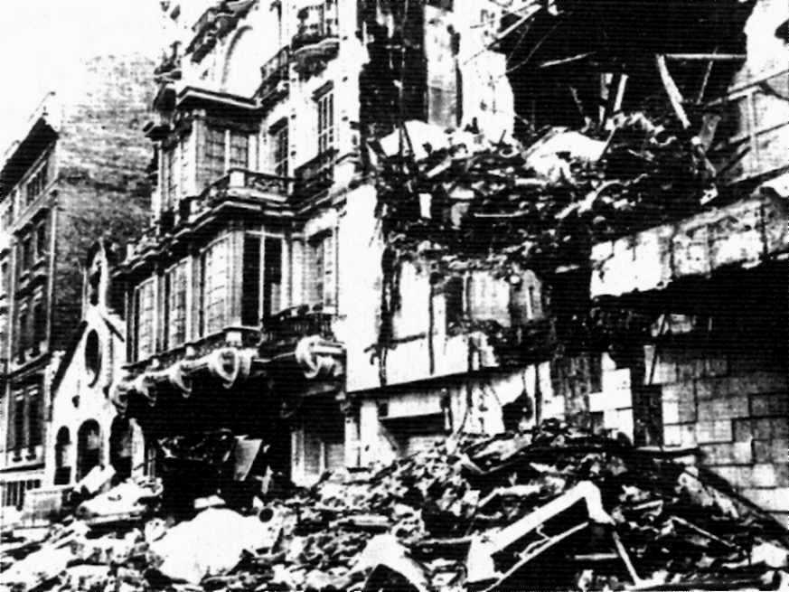 La sala Scala després de l'incendi