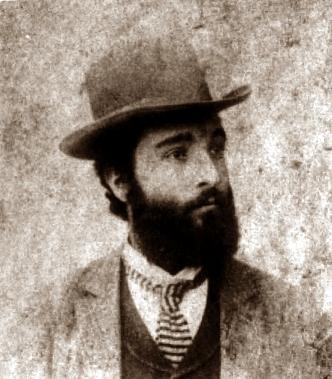 Paolo Schicchi fotografiat per O. Meistring en 1891