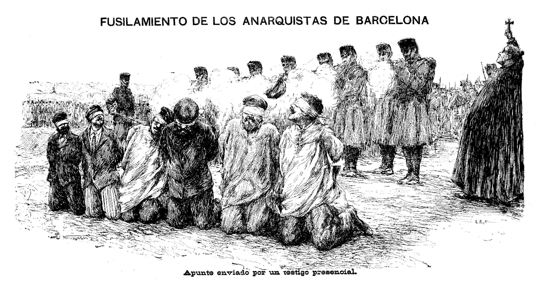 """Els afusellaments de Montjuïc segons el diari madrileny """"El Imparcial"""" del 28 de maig 1894"""