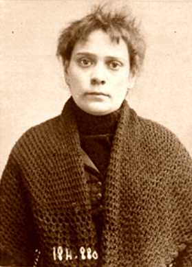 Foto policíaca de Rosalie Soubère