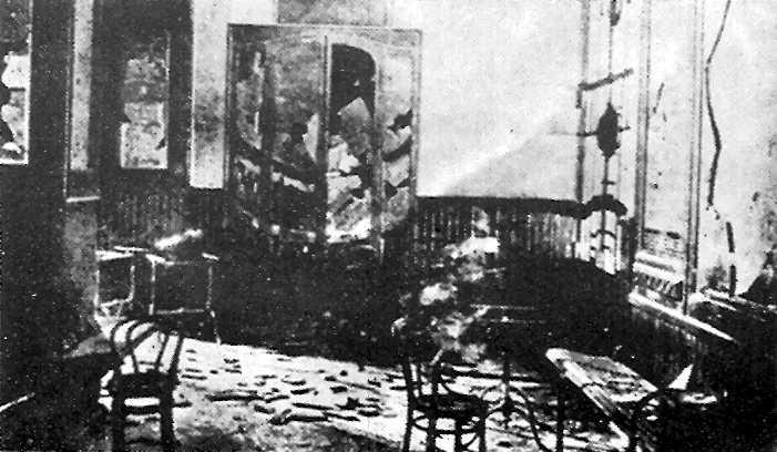 """""""Camera del Lavoro"""" de Torí després de l'assalt feixista del 18 de desembre de 1922"""