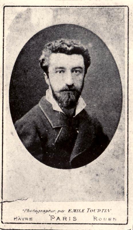 Laurent Tailhade fotografiat a l'època del seu primer matrimoni