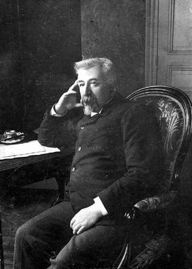 Laurent Tailhade fotografiat per Miguel Almereyda en 1903
