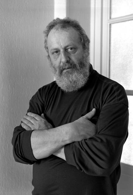 Jacques Vallet fotografiado por Despatin & Gobel (París, Mayo 1995)