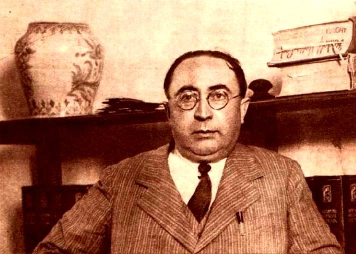 Pedro Vallina fotografiat per Sánchez del Pando (1931)