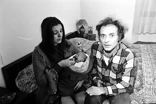 Pietro Valpreda i sa família
