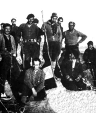 Voluntarios italianos de la Columna Ascaso