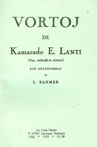 """""""Paraules"""" de Lanti recopilades per Lucien Bannier"""